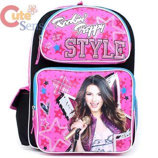 Victorious Victoria Justice School Backpack 16 Large Bag Rockin Preppy