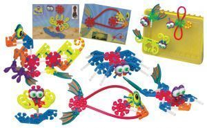 NEX Education Kid KNEX Creatures Set New 245 Pieces
