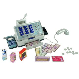 Just Like Home Talking Cash Register Pink Toys R Us Toys R