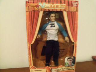 Justin Timberlake NSYNC Marionette Doll
