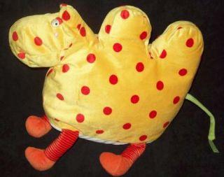 Yellow IKEA Barnslig Kamel Red Dots Camel Plush Toy