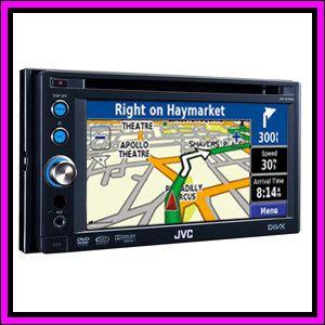 JVC KW AVX746 6 1 LCD GPS Navigation System Bluetooth DVD Player Car