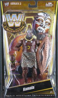 Mattel WWE Legends Series 2 Kamala