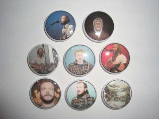 Bon Iver Buttons Pins Badges Justin Vernon Indie Folk