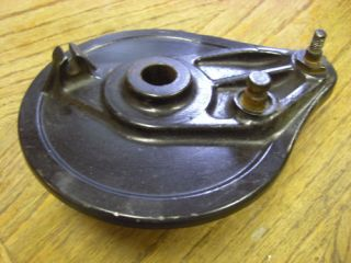 76 Mr 250 Elsinore Rear Back Brake Hub Backing Plate