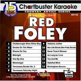 Chartbuster Karaoke CDG90142 Red Foley
