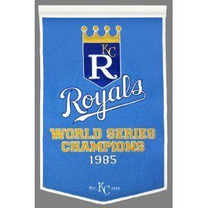 Kansas City Royals World Series Champs Dynasty Banner