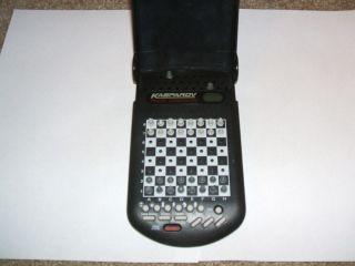 Kasparov Travel Companion Chess Computer   Saitek Electronic Handheld