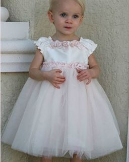 Baby Biscoi French Porcelain Dress by Kae Mack Size 12M 4