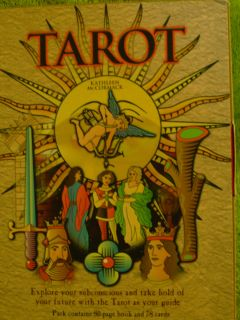 Kathleen McCormack Tarot 78 Card Deck 80 Page Book Box Set Divination
