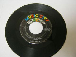 Kary Maeson Spingle Spangle w P L J 45 RPM
