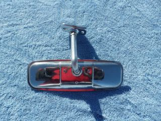 1955 56 Ford Victoria Fairlane Chrome Interior Mirror