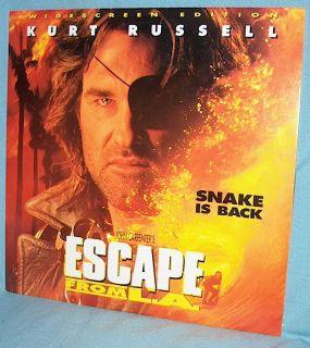 John Carpenters Escape from L A Kurt Russell Stacy Keach AC 3