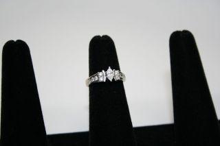 Kay Jewelers 14k White Gold 3 4 Carat T w Diamond Ring