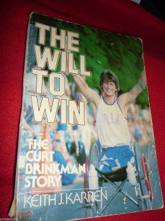 BIOPB Keith J. Karren Curt Brinkman Story Will to Win (1981 Paperback