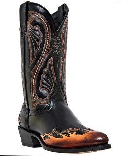 Mens Cowboy Boots Western Fashion Laredo Chicago Flex Outsole J Toe