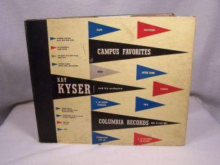 78 Record Album Kay Kyser Campus Alma Mater Favorites