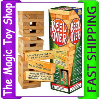 Keel Over Drinking Party Game as Jenga Great Gift