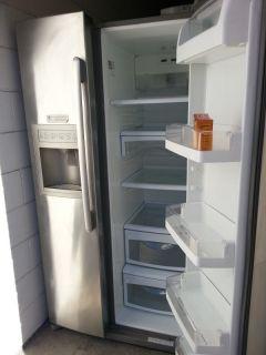 Kenmore Refrigerator Freezer, 15 months old, Stainless/Steel 2 Door