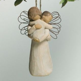 Demdaco Willow Tree Angels Embrace Ornament 26089