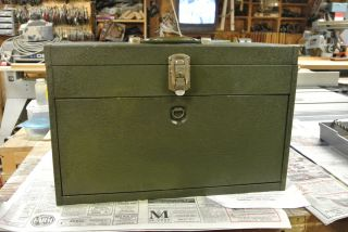 Vintage Very Nice Kennedy Machinist Tool Box