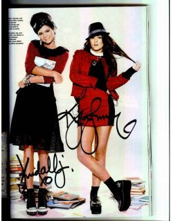 Kendall and Kylie Jenner Signed Seventeen Magazine Kardashians