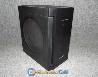 PANASONIC Black Kelton Active Subwoofer Model SB HW560 for Home