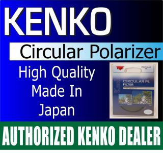 Kenko 67mm HQ Circular Polarizer Authorized Kenko USA Dealer