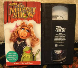 the Muppet Show Elton John V 1 Julie Andrews Gene Kelly Vhs Video VGC