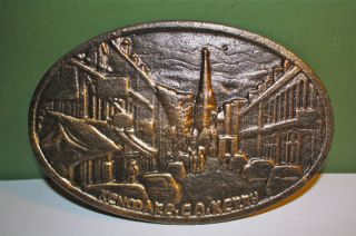 Kenmare Co Kerry Ireland Bronze Irish Celtic Plaque