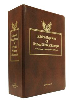 Album Binder Book Golden Replicas Kenneth C Ott Covers Storage