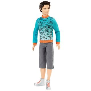 Barbie Ken Fashionistas Doll 2010 SPORTY NEW IN BOX( IN STOCK)V7147