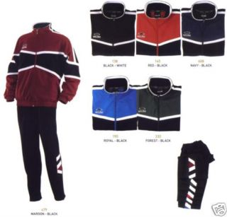 New Kelme Adult Tiburon Soccer Futbol Warm Up Suit Jacket and Pants