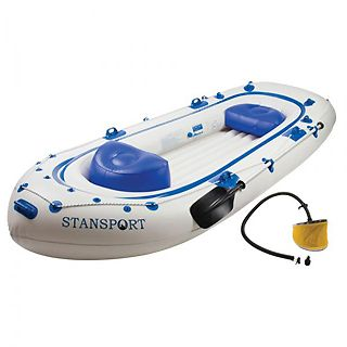 Stansport Kenai II 6 Man Inflatable River Boat Raft