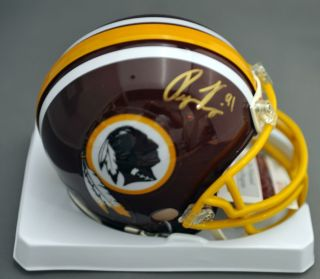 Ryan Kerrigan Signed Autographed Washington Redskins Mini Helmet JSA