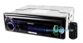 KENWOOD KDC452U CAR AUDIO CD  PLAYER AUX USB INPUT IPOD IPHONE