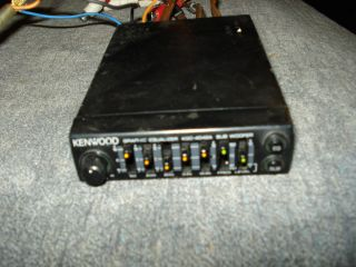 Old School Kenwood KGC 4042A Graphic Equalizer EQ