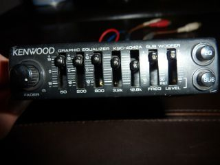 Kenwood KGC 4042A Graphic Equalizer with Subwoofer Baby Kenwood