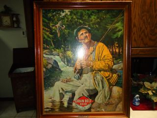 Belt Friendly Beer Advertising Picture Signed by J F Kernan