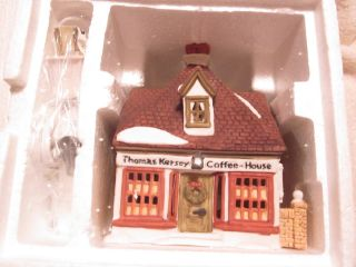 Department 56 Dickens Lane Thomas Kersey Coffee House