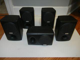 Kenwood Home Theater System 600 Watt Receiver 5 Speakers Sub