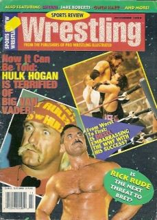 Review Wrestling magazine 11 94 OWEN HART RICK RUDE DIESEL KEVIN NASH