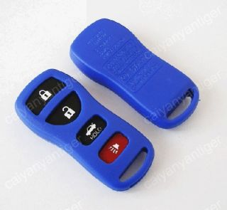 Replacement Blank Remote key Case Shell FOB Refit Nissan 4 Button Key