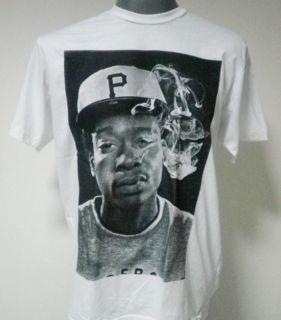 Wiz Khalifa Hip Hop Rapper T Shirt White Size M