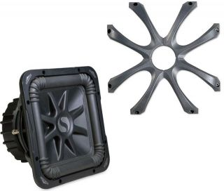 KICKER SUB GRILL SYSTEM INCLUDES GL712 GRILLE & S12L5 DUAL 4 OHM