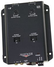 Kicker 03KX2 2 Way Active Car Audio Electronic Subwoofer Crossover KX2