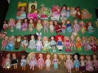 Barbie Family Kelly Tommy Doll Kid Sister Friend Lot of 50 Dressed VGC