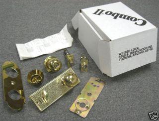 10pcs Weiser Combo Lock Doorknob Keyed Entry Deadbolt