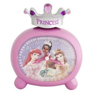 Princess Sculpted Alarm Clock Kids Room Decor Belle Ariel Tiana New