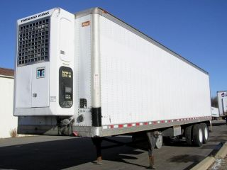 1998 Kidron 36 Refrigerated Reefer Trailer Thermo King Unit Tandem